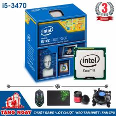Giá Bộ vi xử lý Intel CPU Core i5 3470 3.6GHz (4 lõi, 4 luồng) + Quà Tặng - Hàng Nhập Khẩu