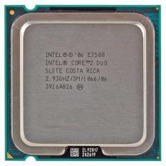 Cửa Hàng Bộ Vi Xử Lý Intel Cpu E7500 3M 2 93G Intel Trực Tuyến