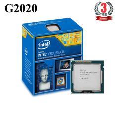 Bộ vi xử lý Intel CPU Pentium G2020 (2 lõi - 2 luồng) - Hàng Nhập Khẩu