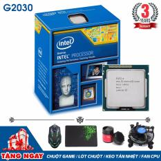 Bộ vi xử lý Intel CPU Pentium G2030 3.0 GHz (2 lõi, 2 luồng) + Quà Tặng - Hàng Nhập Khẩu