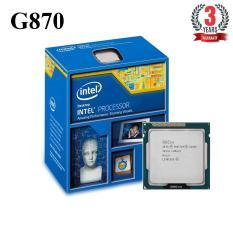 Bộ vi xử lý Intel CPU Pentium G870 (2 lõi - 2 luồng) - Hàng Nhập Khẩu