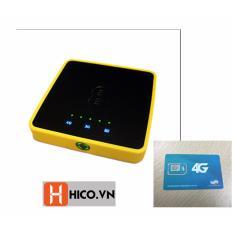 Mã Khuyến Mại Bộ Wifi 4G 3G Lte Alcatel Y854 Tốc Độ Cực Cao 150Mbps Kiem Sạc Dự Phong Tiện Lợi Sim 4G Viettel 20Gb X 12 Thang Đen Trong Vietnam