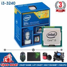 Bộ xử lý Intel Core i3-3240 3.40GHz (2 lõi, 4 luồng) + Quà Tặng - Hàng Nhập Khẩu