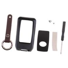 Hình ảnh BolehDeals Nhôm Kim Loại Remote Key Fob Da Ốp Lưng dùng cho Xe Toyota Camry Đen-quốc tế