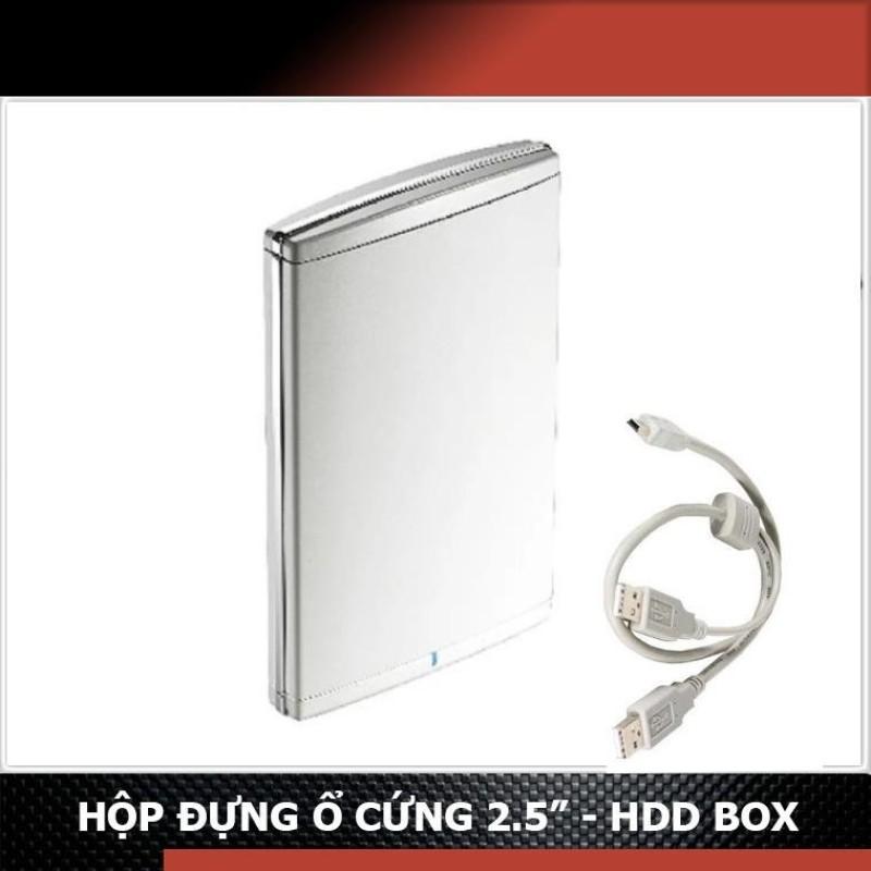 Bảng giá Box HDD 2.5 USB 2.0 TMX TX-OT21 US - Hộp đựng ổ cứng (trắng) - Chính hãng Phong Vũ
