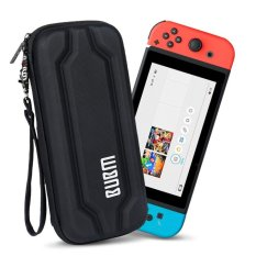 Hình ảnh BUBM Cứng EVA Túi Đeo Khóa Kéo Tay cho Nintendo Switch Tay Cầm & Phụ Kiện-Đen-quốc tế