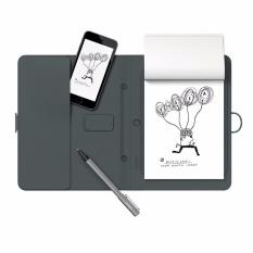 Hình ảnh bút vẽ cảm ứng kèm sổ ghi chú thông minh tự đồng bộ dữ liệu vào điện thoại , Tablet Bamboo Spark(xám)- Hàng nhập khẩu