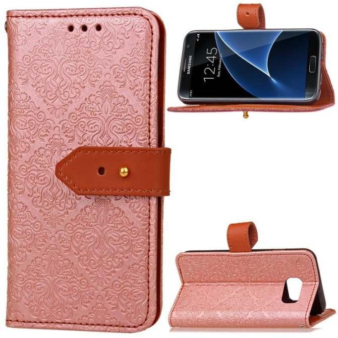 BYT Euro Bức Tranh Tường Bao Da Flip Cover dành cho Samsung Galaxy Samsung Galaxy S7