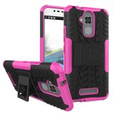Bán Byt Rugged Dazzle Case For Asus Zenfone 3 Max Zc520Tl With Kickstand Rose Intl Người Bán Sỉ