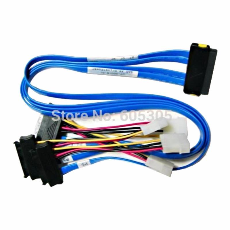 Bảng giá Cable internal SAS SFF-8484 to 4x SFF-8482 50cmCB92001 Phong Vũ