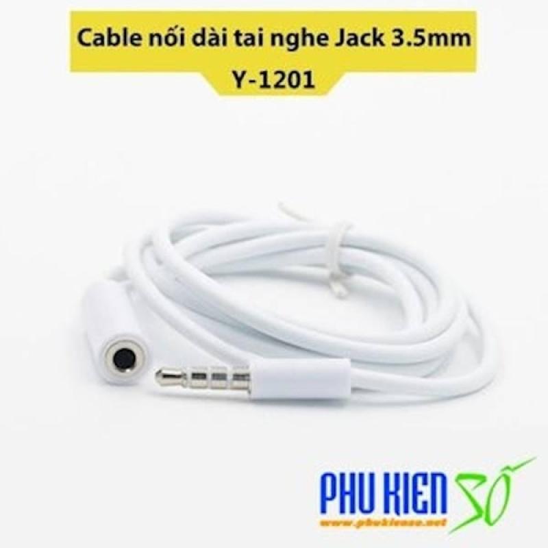 Cable nốI dài tai nghe điện thoạI Jack 3.5mm Dài 1 Mét