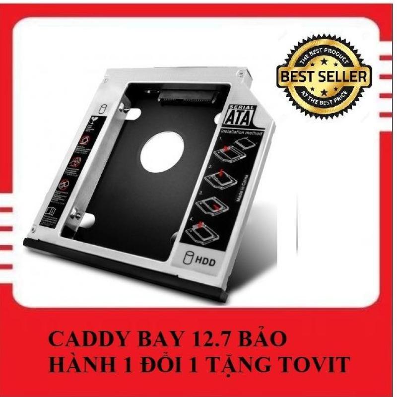 Bảng giá Caddy Bay SATA 3.0 12.7mm gắn thêm ổ cứng cho Laptop Tặng kèm Tovit Phong Vũ