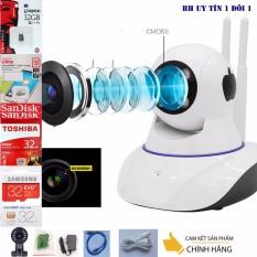Giá Bán Camera Ban Dem Yoosee Wifi Sieu Net Full Hd 1920X1080 Mới Nhất Thẻ Nhớ 32G Class 10 Bh 1 Đổi 1 Tech One Hà Nội