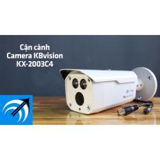 Giá Bán Camera Chống Nước Kb Vision Kx 2003C4 2 Mp Tầm Xa Hồng Ngoại 80M Rẻ