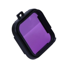 Camera Filter Protection Mirror Accessory for GoPro4Session - intl (Purple)