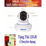 Chiết Khấu Camera Giam Sat An Ninh Kết Nối Wifi 3 Rau Yoosee Tặng Kem Thẻ Nhớ 32 Gb Yoosee