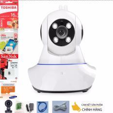 Chiết Khấu Camera Giam Sat Ip Yoosee Wifi Sieu Net Full Hd 1920X1080 Mới Nhất Thẻ Nhớ 16G Class 10 Bh 1 Đổi 1 Tech One