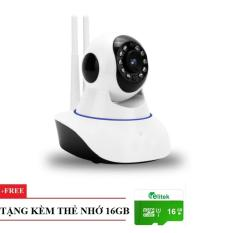 Giá Bán Camera Giam Sat Wifi Ăng Ten Pk11 Full Hd 1080P Tặng Kem Thẻ 16Gb Nguyên
