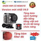 Giá Bán Camera Hanh Động 4K Wifi Eken H9R Co Remote Phien Bản Mới Nhất 4 Tặng Kem Kinh Lọc Đỏ Nhãn Hiệu Eken