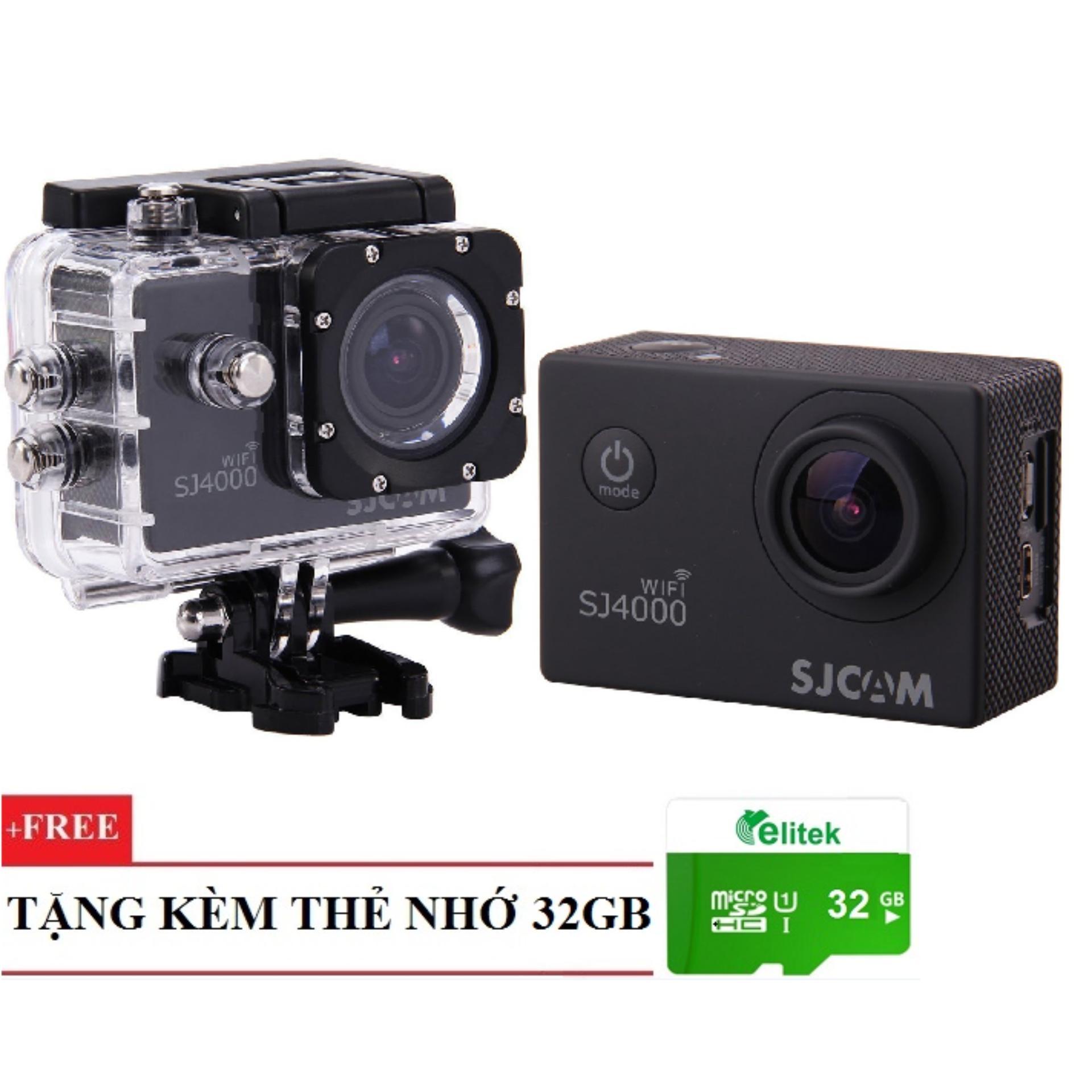 Camera Hành Động Thể Thao Sjcam 4000 Wifi Chống Nước