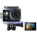 Bán Camera Hanh Động Waterproof Action Camera Wifi Multipurpose 4K Ultra Hd Đen Mới