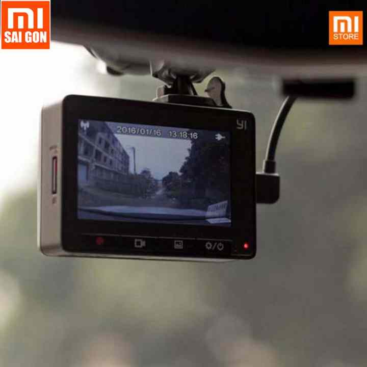 Camera hành trình xe hơi ô tô xiaomi yi smart car DVR