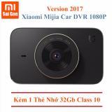 Bán Camera Hanh Trinh Xe Hơi Xiaomi Mijia Car Dvr 1080P Phien Bản 2017 Kem Thẻ 32Gb Class 10 Đen Xiaomi Có Thương Hiệu