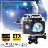 Camera Hanh Trinh Cho Xe May Chống Nước Wifi 4K Ultra Hd Tặng Kem Remote Co Man Hinh Trước Lcd Rẻ