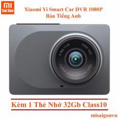 Ôn Tập Tốt Nhất Camera Hanh Trinh Xiaomi Yi Smart Car Dvr Xam Kem 1 Thẻ Nhớ Class 10