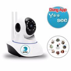 Cửa Hàng Camera Hd Wireless Ip Detek X8100 Xoay 360 Độ Dung Ứng Dụng Yoosee Trắng Hồ Chí Minh