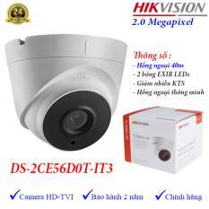 [BẢO HÀNH 24 THÁNG] Camera HIKVISION DS-2CE56D0T-IT3 2.0Mp – Camera giám sát an ninh – Công Nghệ Hoàng Nguyễn
