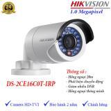Chiết Khấu Camera Hdtvi Ngoai Trời Hồng Ngoại 20M 1Mp Hikvision Ds 2Ce16C0T Irp Có Thương Hiệu