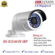 Mã Khuyến Mại Camera Hdtvi Ngoai Trời Hồng Ngoại 20M 1Mp Hikvision Ds 2Ce16C0T Irp Vietnam
