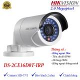 Camera Hdtvi Ngoai Trời Hồng Ngoại 20M 2Mp Hikvision Ds 2Ce16D0T Irp Hồ Chí Minh Chiết Khấu 50