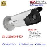 Ôn Tập Camera Hdtvi Ngoai Trời Hồng Ngoại 40M 2Mp Hikvision Ds 2Ce16D0T It3