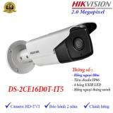 Bán Camera Hdtvi Ngoai Trời Hồng Ngoại 80M 2Mp Hikvision Ds 2Ce16D0T It5 Hikvision Nguyên