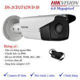 Bán Camera Ip 4Mp Ngoai Trời Hồng Ngoại 80M Hikvision Ds 2Cd2T42Wd I8 Hikvision Người Bán Sỉ