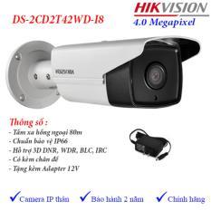 Mua Camera Ip 4Mp Ngoai Trời Hồng Ngoại 80M Hikvision Ds 2Cd2T42Wd I8 Mới Nhất