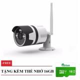 Camera Ip An Ninh Elitek Chống Nước Ngoai Trời 3 Led Chất Lượng 1080P Thẻ Nhớ 16Gb Elitek Chiết Khấu