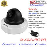Mua Camera Ip Cube Wifi Hồng Ngoại 2Mp Hikvision Ds 2Cd2F22Fwd Iws Trực Tuyến Rẻ