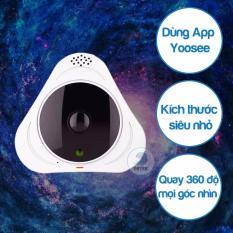 Chiết Khấu Camera Ip Detek Vr 360 Độ Hd 960P Chạy Ứng Dụng Yoosee Trắng Có Thương Hiệu
