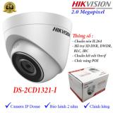 Bán Camera Ip Dome Hồng Ngoại 2Mp Hikvision Ds 2Cd1321 I Hikvision Trực Tuyến