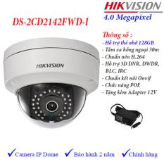 Bán Camera Ip Dome Hồng Ngoại 4Mp Hikvision Ds 2Cd2142Fwd I Hikvision Nguyên