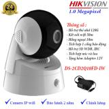 Chiết Khấu Camera Ip Dome Wifi Quay Quet Hikvision Ds 2Cd2Q10Fd Iw Hikvision Trong Hồ Chí Minh