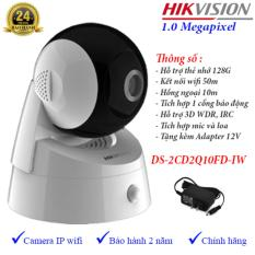 Camera Ip Dome Wifi Quay Quet Hikvision Ds 2Cd2Q10Fd Iw Mới Nhất