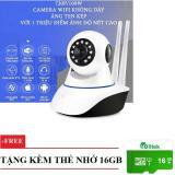 Mua Camera Ip Khong Day 2 Ăng Ten Ghi Hinh Ngay Đem Xoay 360 Độ Yoosee Yyz100 Xf Thẻ Nhớ 16Gb Oem Trực Tuyến