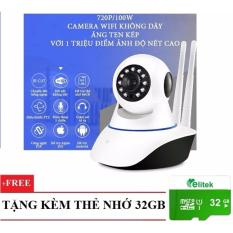 Mua Camera Ip Khong Day Quan Sat Ngay Đem Xoay 360 Độ Yoosee 02 Tặng Thẻ 32Gb Hồ Chí Minh