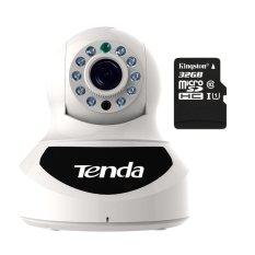 Giá Bán Camera Ip Quan Sat Va Bao Động Tenda C0S V4 Trắng Thẻ Nhớ Kingston Micro 32Gb Class 10 Tenda Nguyên