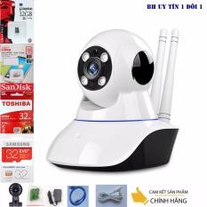 Mã Khuyến Mại Camera Ip Thong Minh Yoosee Wifi Sieu Net Full Hd 1920X1080 Mới Nhất Thẻ Nhớ 32G Class 10 Bh 1 Đổi 1 Tech One Yoosee