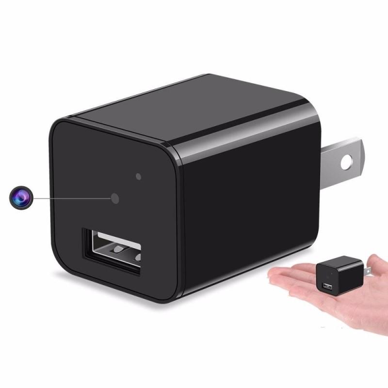 Camera Mini Giám Sát Sử Dụng Đơn Giản Hình Cốc Sạc Điện Thoại